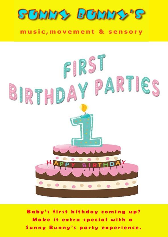 First Birthday Parties